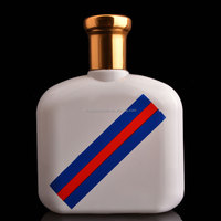 2015 fresh new solid color coating 100ML perfume bottle glass wholesale in Guangzhou
