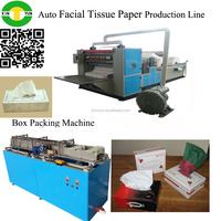 6 Lanes Automatic Interfolding Facial Tissue Machine
