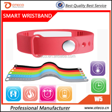 2015 Smart Bracelet Band Intelligent watches Sport Wristband With Passometer and Movement Management Calorie counter