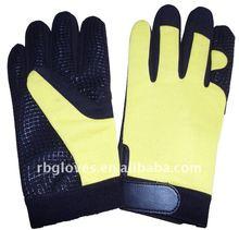 Industrielle de sécurité en cuir gant