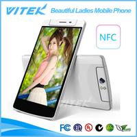 2014 Hot Digital Android 3G 13MP Camera Beautiful Ladies Mobile Phone
