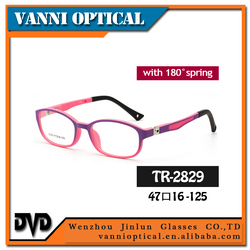 TR90 eyeglasses frames with spring,green frame glasses,kids glasses frames
