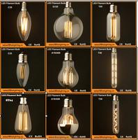 vintage edison a19 led bulb e27 3w, a60 led globe bulb b22