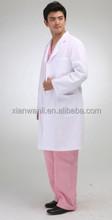 disposable non woven unisex white medical uniform