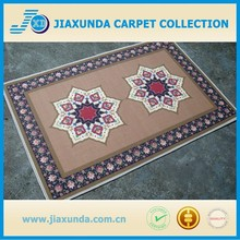 Plain fashion non-slip print flower door mat