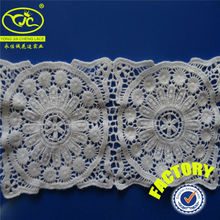 (Factory YJC347-6) Garments accessories buyer lace crochet trimmings for dresses