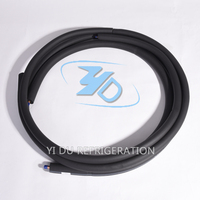 plastic coated foam flaxible natural gas air conditioning aluminum connection pipe