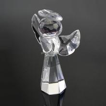Glitta 2015 New Fashion angel shape crystal favor for wedding crystal craft CG004