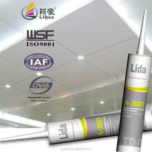 aluminum/plastic rtv strong bonding silicone adhesive