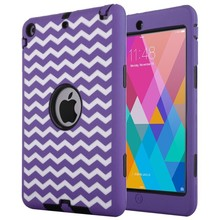 3 In 1 Powerful Shockproof Case for iPad Mini 2 Retina, for iPad Mini 2 Retina Heavy Duty Protective Cover