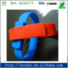 Silicone bracelet usb flash memory bulk cheap