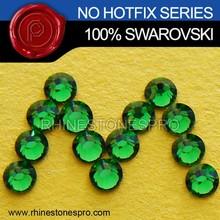 New Style Swarovski Elements Fern Green (291) 20ss Flat Back Crystal No Hotfix Rhinestone