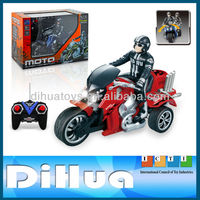 1:10 SCALE 4 CH RC Toys Battery Operated Motorcycle Toy