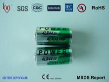 Best quality 4LR44 6V alkaline battery
