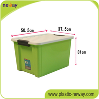 PP high quality home use cheap plastic storage box with open front
