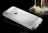 Luxury case for iPhone 6 brushed aluminum case metal cell phone case for iPhone 6 / plus