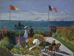 Reproduction of Famous oil painting The Garden at Sainte