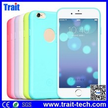 HOCO brand mobile phone case wholesale, Ultrathin Solid Color Back Cover case for iphone 6 plus, 9 color available