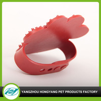 Picture customized rubber dog massager