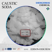 High quality inorganic alkali caustic soda flakes 99% for textile