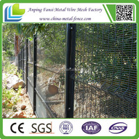 wholesale Boundary Security Fence,2.4m high weldmesh systems fence ,Best Selling Anti Climb 358 Fence ISO+CE+Factory