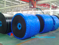 mine,stone,sand cement fabric Nylon NN EP CC56 steel cord, rubber conveyor belt/ band/ belt conveyor