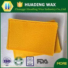 Food coating beeswax yellow/ white popular in Italy market