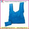 Blue Nylon Foldable Shopper Bags Supermarket Shopping bags