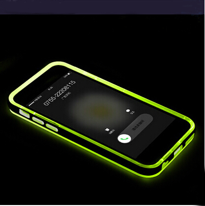 wholesale flash notification led flash call light phone case cover for iphone 6. Black Bedroom Furniture Sets. Home Design Ideas