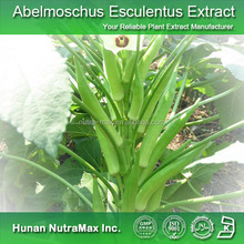 Factory supply Okra extract/Abelmoschus Esculentus extract/Active central nervous plant extract