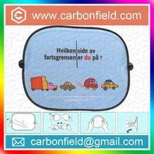 Foldable Printing Car Sunshade Curtain