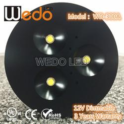6000k LED shelf light ,cool white led puck light kit for home decor WD-300A-3W