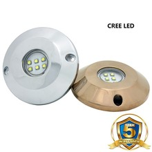 DC12V IP68 5090Lumens 60watt Led Underwater Light for Swimming Pool/Boat/Marine/Yatch
