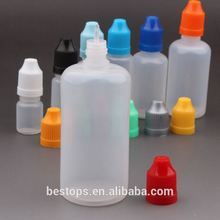 Turkey pet bottle vending machines blue cap for 5ml essential oil bottle