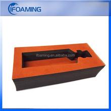 plastic packaging insert/custom foam box inserts/foam pen insert