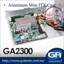 GA2300 mini itx aluminum case Industrial Fanless PC