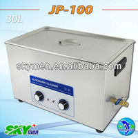 Big tank ultrasonic cleaning machine for spare parts 30L