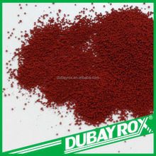 Inorganic Pigment Style Granular Iron Oxide Red Pigments