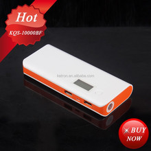 travel essentials lcd portable power bank 12000mah mobile usb charger