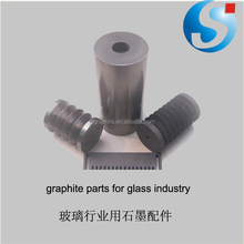 Graphite mold for blowing glass