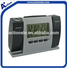multi function projection alarm clock with calendar