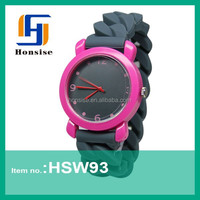 Silicone 2015 Newest fashion Lady Women Hand Watches Free Samples