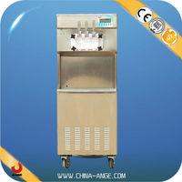 3 Flavors Floory type ice cream maker hand crank ice cream cup filling machine model BXR-2238