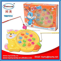 2015 new products interesting products from china 15pcs electric robot fish music toy