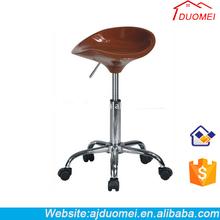Swivel plastic bar stools