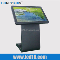 46 Inch Hig Resolution Video LCD Advertising Player Interactive Touch Foil Display Coffee Table