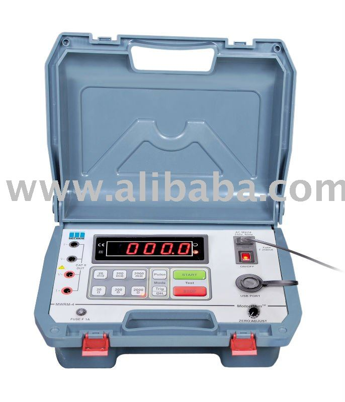 Motor Ohm Meter Mwrm 4 Buy Motor Winding Resistance Meter Product On