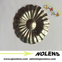 New Type Wrought Iron Stamped Metal Leaves/Flowers with All Thickness and Sizes Meet Your Need,Easy to Weld