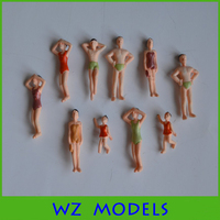 1;75 swimming action colorful figure model/good swimmer model figure