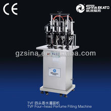 Full automatic cream and paste/lotion/perfume production line filling machine